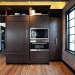 Matching cabinet and appliance corner