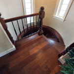 All wood Spiral Staircase