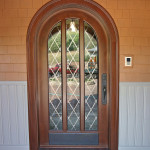 Custom made arched door