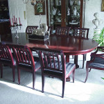 Handcrafted Table and Chairs