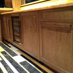 Bar and storage cabinets