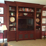 Theater and TV cabinet