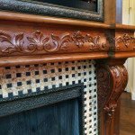 Fireplace Mantel detail
