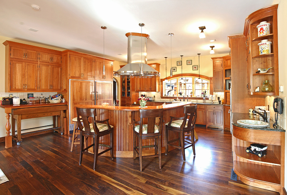 Kitchen Cabinets And Island