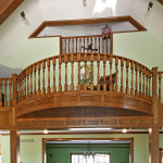 Staircase in great room